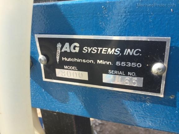 2015 Ag Systems 8000-6