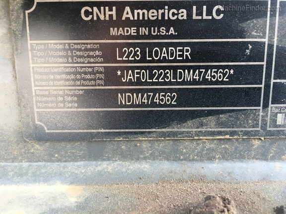 Photo of 2013 New Holland L223