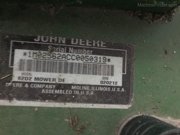 John Deere 62D