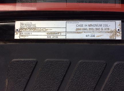 Case Magnum 340