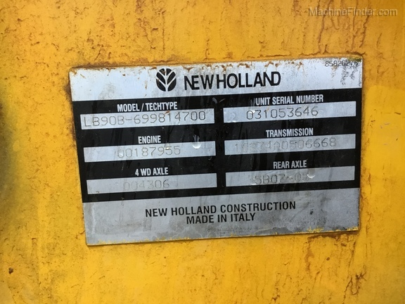 2006 New Holland LB90B