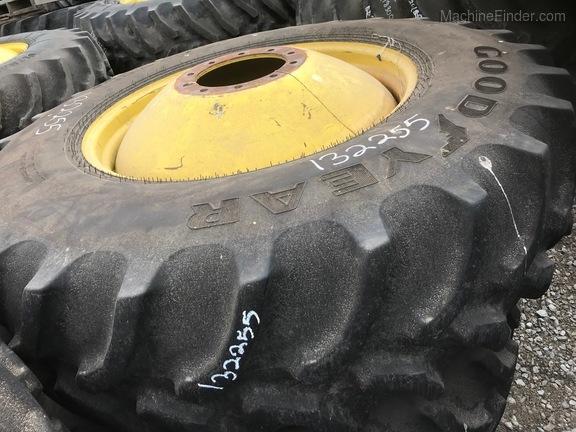 John Deere Goodyear 520/85R38 combine duals