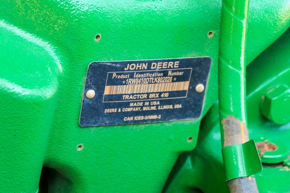 2021 John Deere 8RX 410-7
