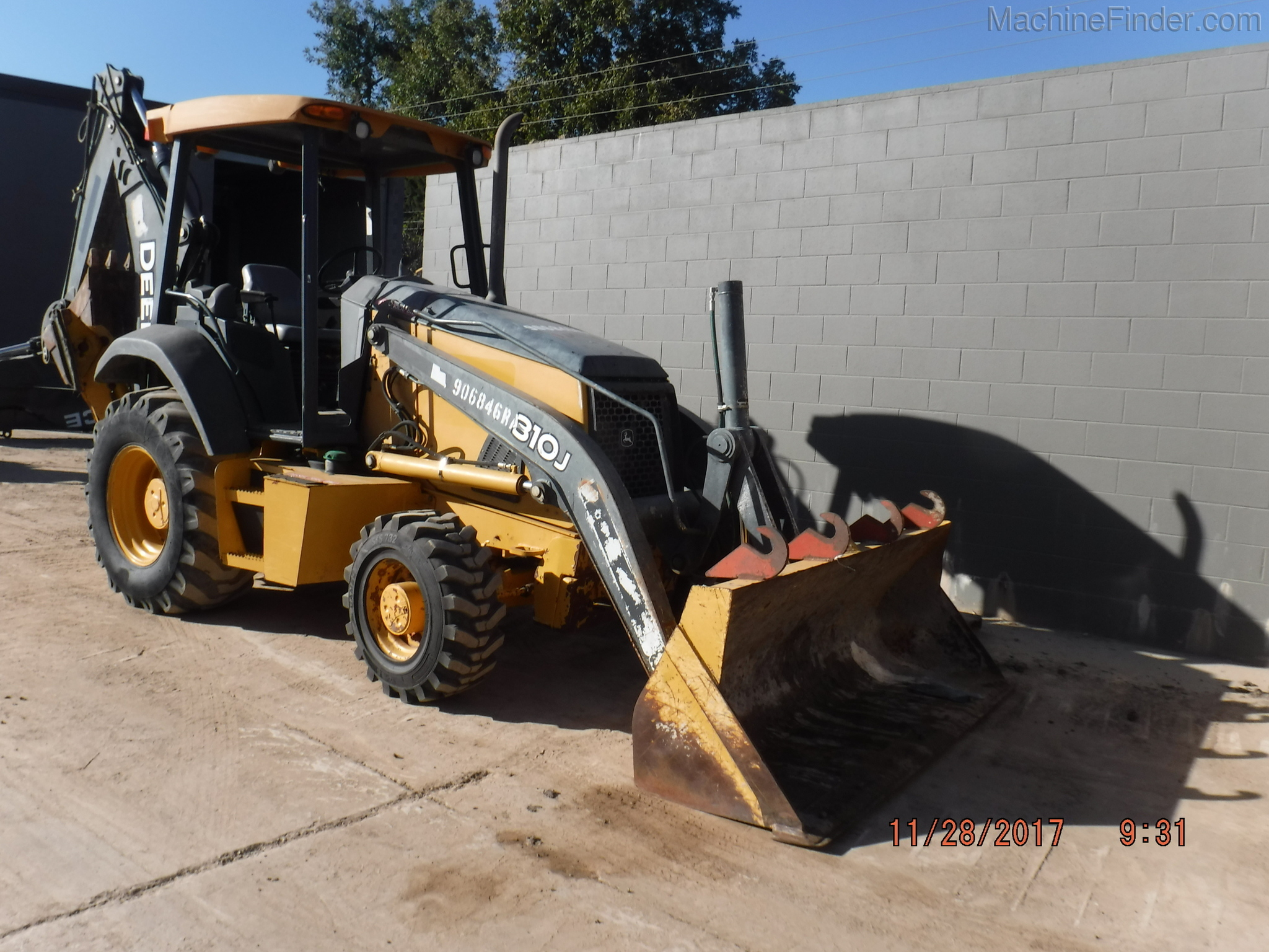 Hrg Equipment Corp 2016 John Deere 310j Loader Backhoe For