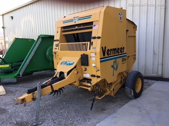 Vermeer 554XL