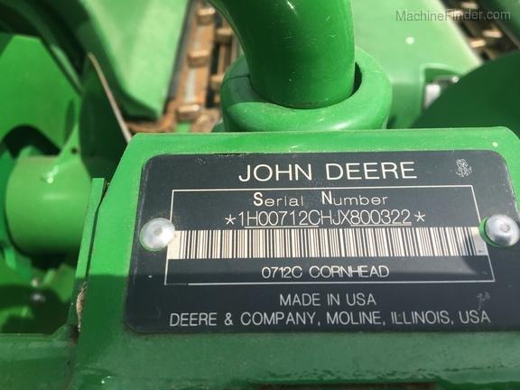 Photo of 2018 John Deere 712C