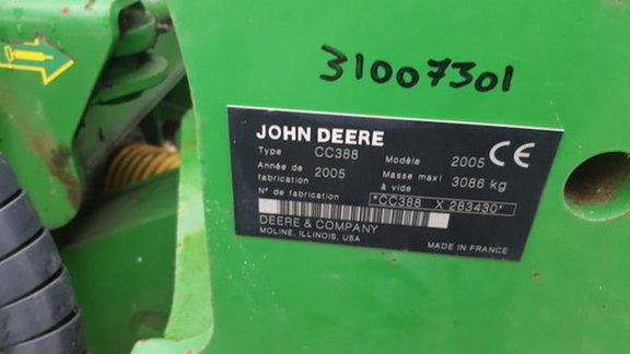 John Deere 388 Butterfly Mower