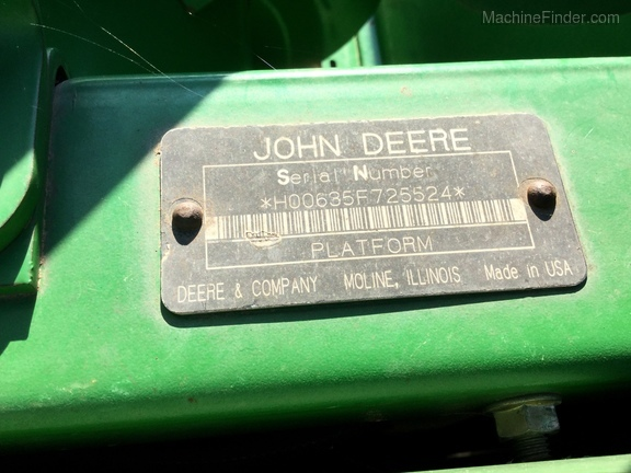 Photo of 2008 John Deere 635F