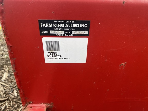Farm King 840G-SB Image 2