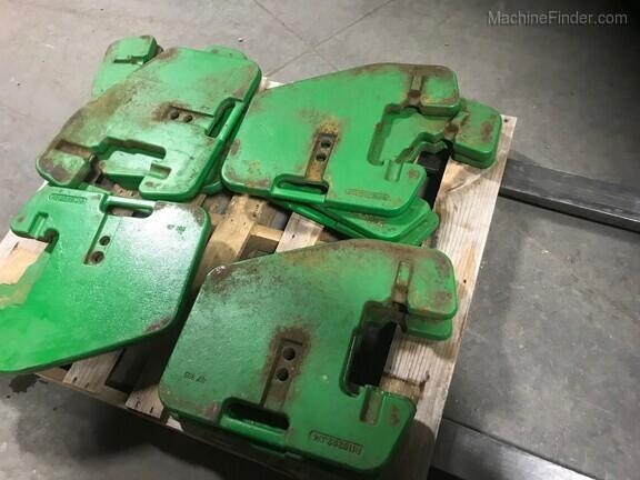 John Deere R116262 FRT SUITCASE WEIGHT