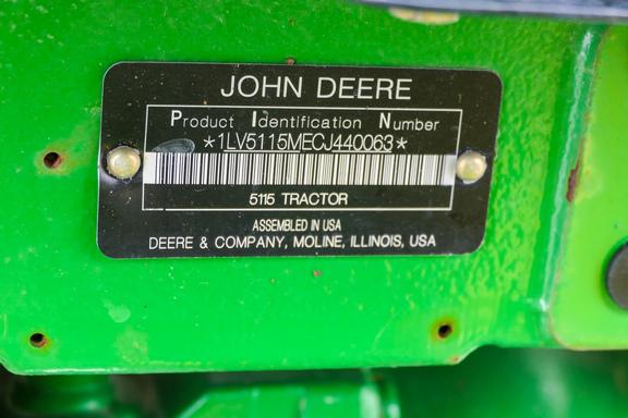 2012 John Deere 5115M-34
