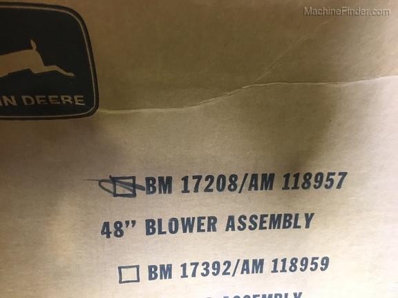 """John Deere BM17208 48"""" PF BLOWER"""