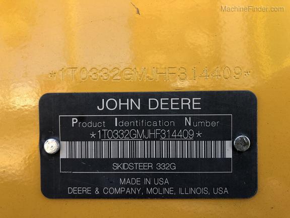 Pre-Owned John Deere 332G in Leesburg, FL Photo 11