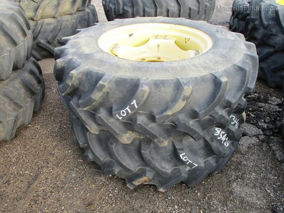 2016 Firestone 340/85R24 Firestone Tires W/ Rims