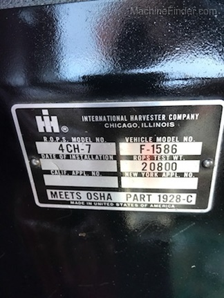 1980 International Harvester 1586