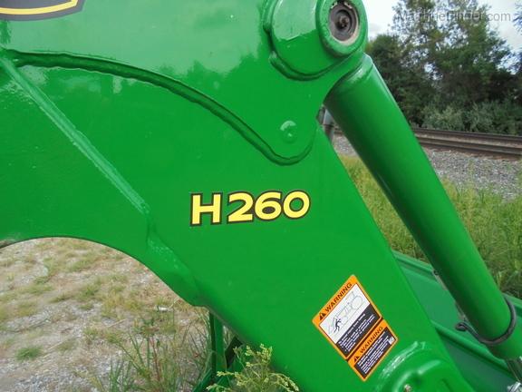 John Deere H260
