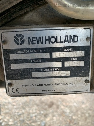 New Holland TC40D