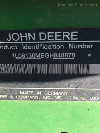2016 John Deere 6130M