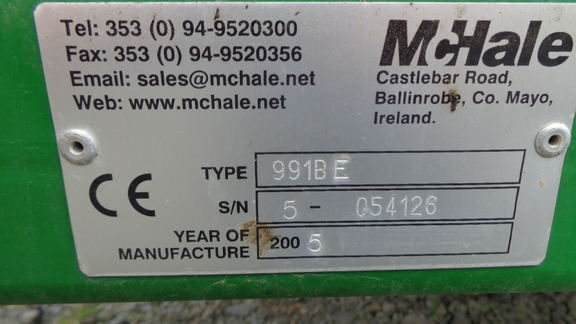 McHale 991BE