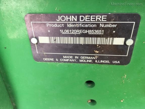 Photo of 2016 John Deere 6120R
