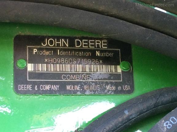 2006 John Deere 9860 STS