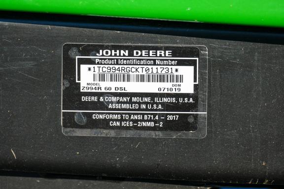 2019 John Deere Z994R-18