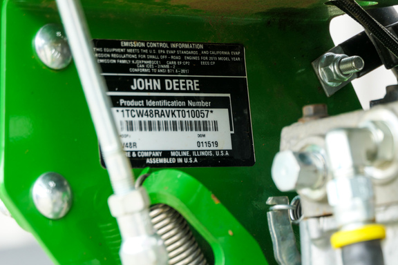 2019 John Deere W48R-15