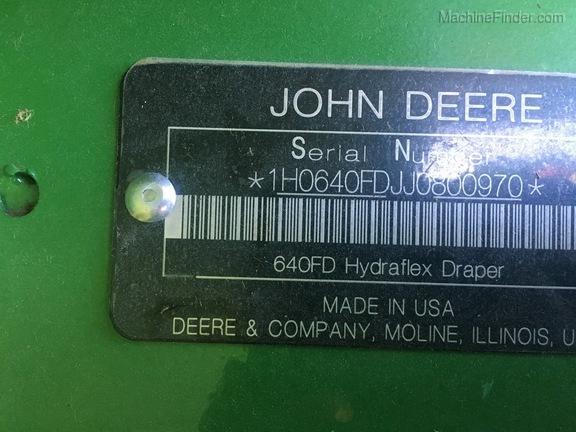 Photo of 2018 John Deere 640FD