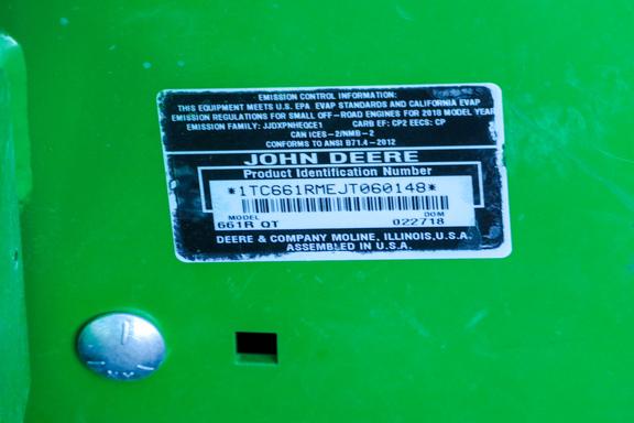2018 John Deere 661R-15