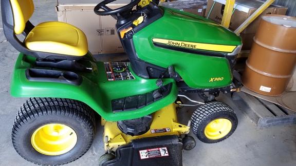 2016 John Deere X380 Lawn Amp Garden Tractors John Deere