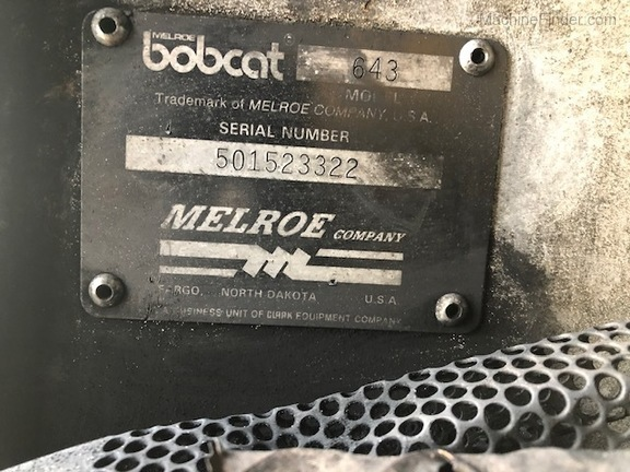 Bobcat 643-6