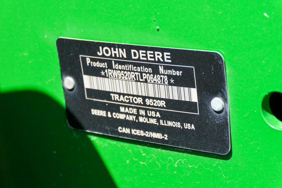 2020 John Deere 9520R-27