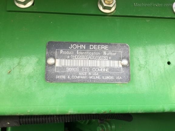 2013年John Deere S680