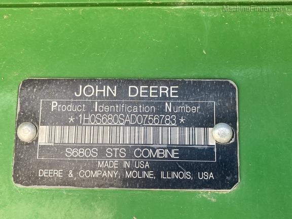 2013 John Deere S680 Image 17