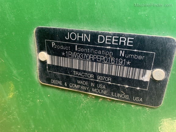 Photo of 2015 John Deere 9370R