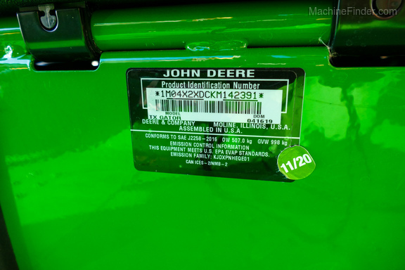 2019 John Deere TX 4X2-19