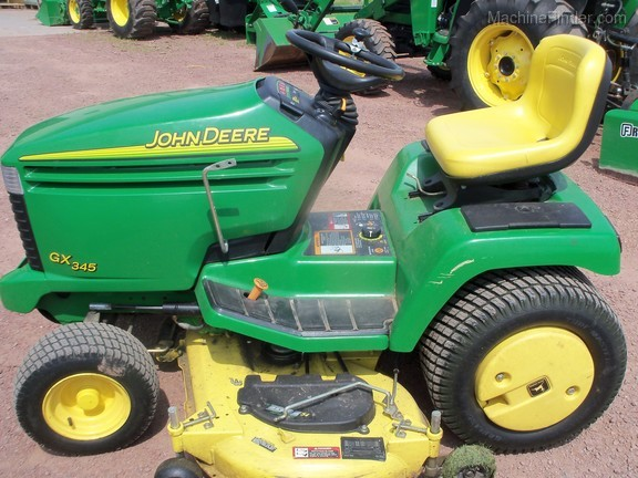 John Deere 345 >> 2004 John Deere 345 Lawn Garden Tractors Mason Wi