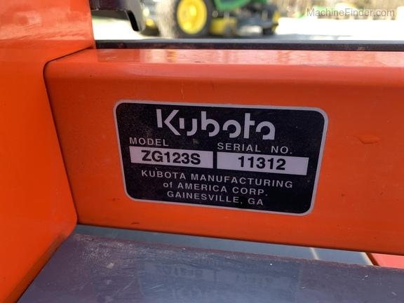 Photo of 2016 Kubota ZG123S