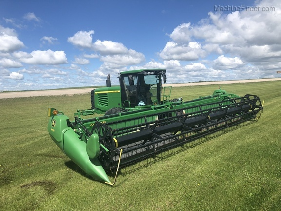 2012 John Deere D450 1E0D450XTCC381711 | Used Windrowers for