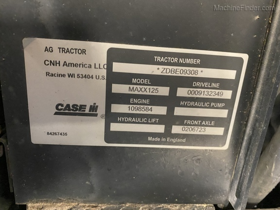 Photo of 2014 Case IH Maxxum 125 MC
