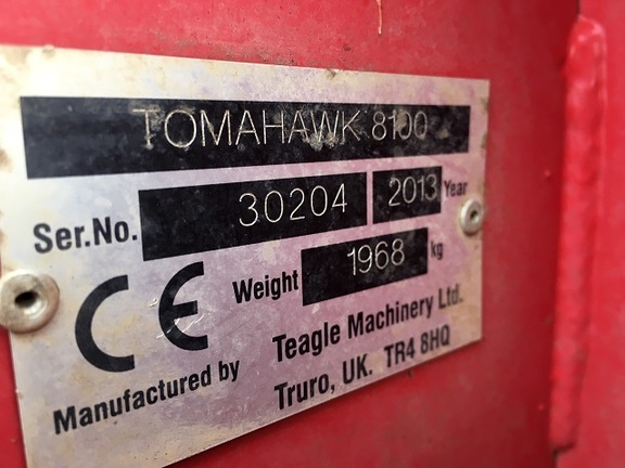 Teagle Tomahawk 8100 Bedder