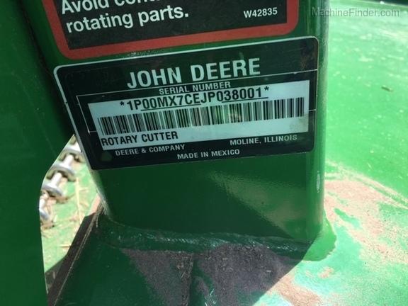 2018 John Deere MX7