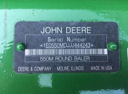 Photo of 2018 John Deere 550M