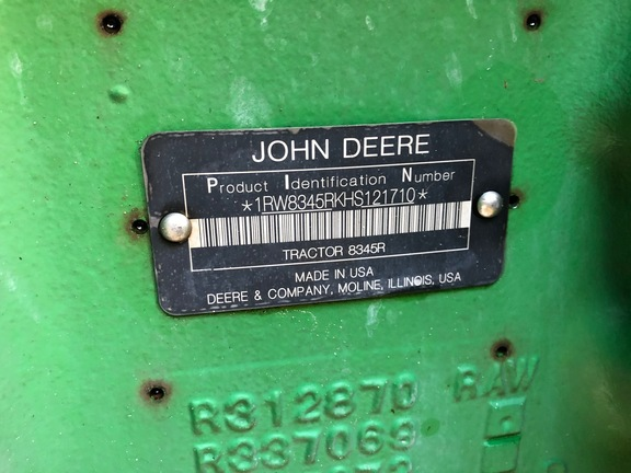 Pre-Owned John Deere 8345R in Plant City, FL Photo 6
