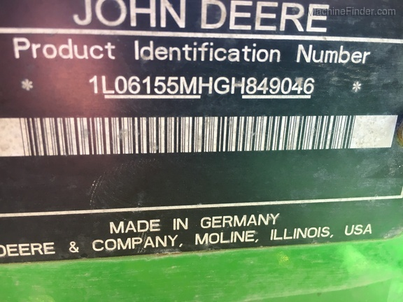 2016 John Deere 6155M