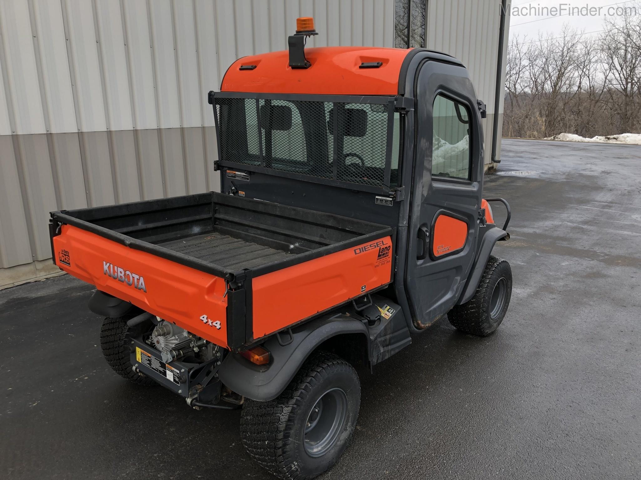 Equipment Details 2013 Kubota Rtv X1100
