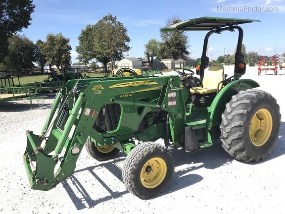 2012 John Deere 5065m - Utility Tractors