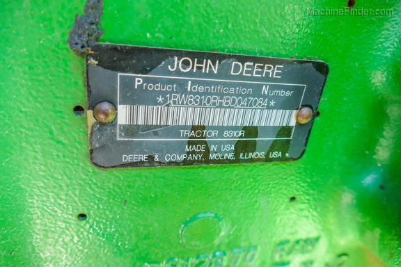 2011 John Deere 8310R-35