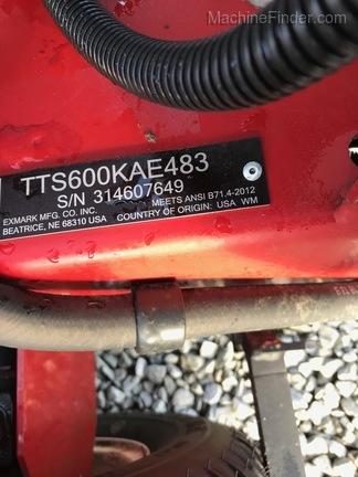 2014 Exmark TT00KAE483-4