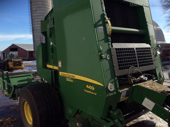 2016 John Deere 469 Silage Special Image 3